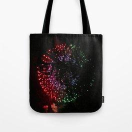 Fire Flower Fireworks Tote Bag