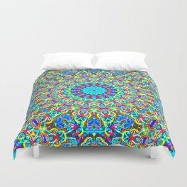 kaleidoscope Crystal Mandala G517 Duvet Cover
