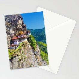 Bhutan Tiger's Nest Monastery Photo Stationery Cards