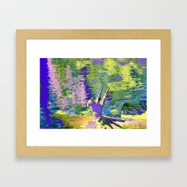 If Cats Could Fly Framed Art Print