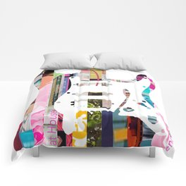 Electric Guitar | Magazine Strip Art Comforters