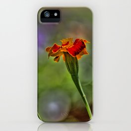 Marigold Trio iPhone Case
