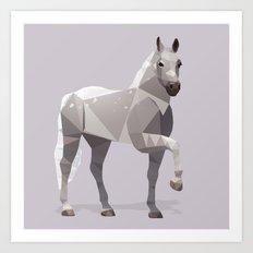 Lipizzaner Horse Art Print