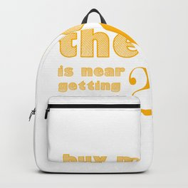 Wedding Party Groom Funny Backpack
