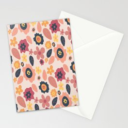 Quirky Flowers Stationery Cards