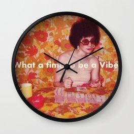 W.A.T.T.B.A.V. Wall Clock