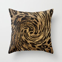 Animal Print Leopard Throw Pillow