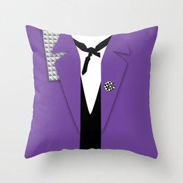 RudeBoy TrenchTee Throw Pillow