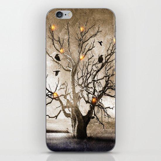 Raven christmas I - HOLIDAZE iPhone & iPod Skin
