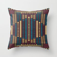 GeoAbstract Throw Pillow