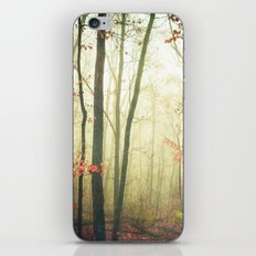 The Woods are Lovely Dark and Deep iPhone & iPod Skin
