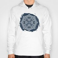 blueprint Hoodies featuring Natural Blueprint by DebS Digs Photo Art