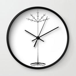 TREE CULT - BLACK Wall Clock