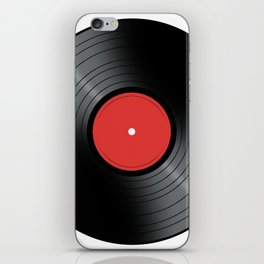 Music Record iPhone Skin