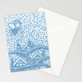 SNOW ANGEL Stationery Cards