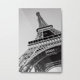 Paris Eiffel Tower | Fine Art Travel Photography Metal Print
