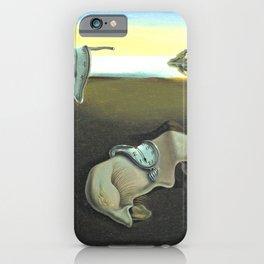 Melting Clocks Salvador Dali Fine Art iPhone Case