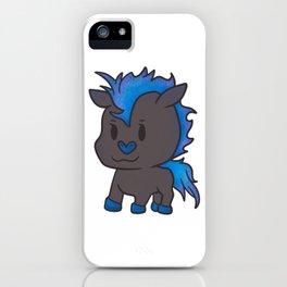Horse mare pony stallion sweet boy Iroquois gift iPhone Case