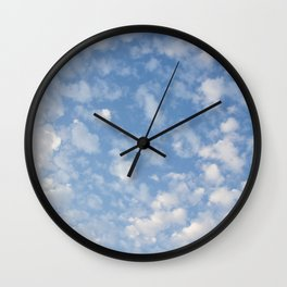 Cotton Clouds Wall Clock
