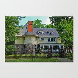 Old West End Edward D Libbey House I Canvas Print