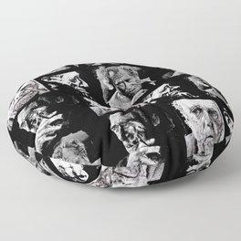 BUKOWSKI - 4 faces Floor Pillow