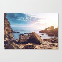 Little Corona Del Mar Beach Canvas Print