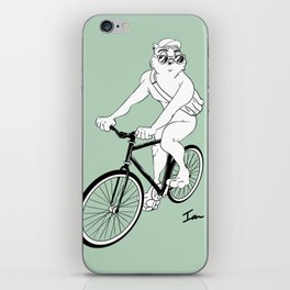 Owl Fixie iPhone Skin