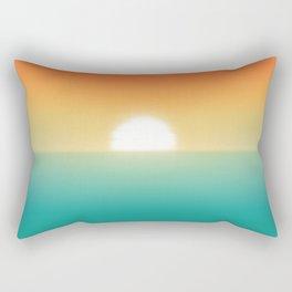 Into the horizon Rectangular Pillow