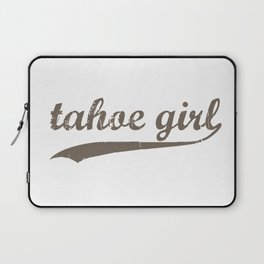 Tahoe Girl Co-ed Chocolate Laptop Sleeve