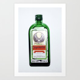 Jägermeister Art Print