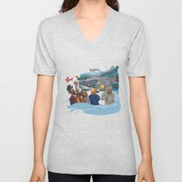 Jazz band Unisex V-Neck
