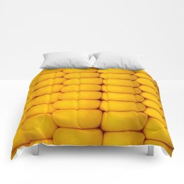 Yellow corn pattern Comforters