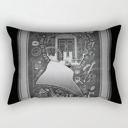 What is it Like in Your Funny Little Brains? Rectangular Pillow