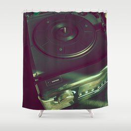 Retro hifi Shower Curtain
