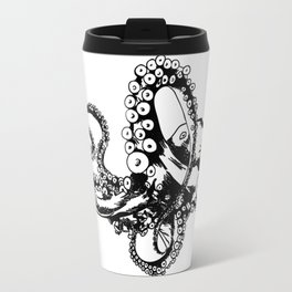 Octopus Sketch Travel Mug