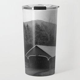 New England Classic Covered Bridge Travel Mug