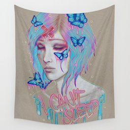 I Can't Sleep Wall Tapestry