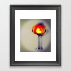 MixMotion: Hot Drinks Framed Art Print