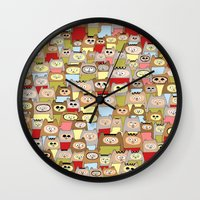 bears Wall Clocks featuring bears! by Asja Boros