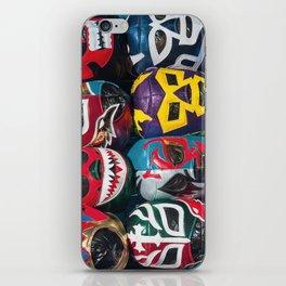 Mexican Wrestler Masks iPhone Skin