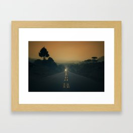 Cool Morning Framed Art Print