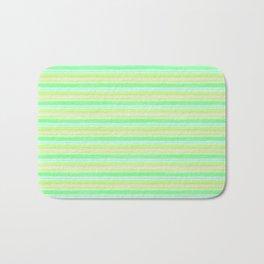 Yellow Lime Blue Scrapbook Sherbert Bath Mat