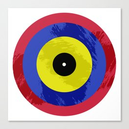 Vinyls Eye I Canvas Print