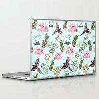 hawaiian Laptop & iPad Skins featuring Hawaiian by Christopher Bennett