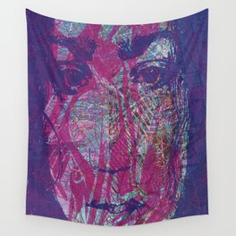 Madness sinks even the strongest angel Wall Tapestry