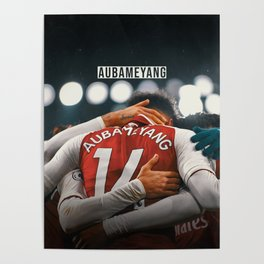 Aubameyang Poster