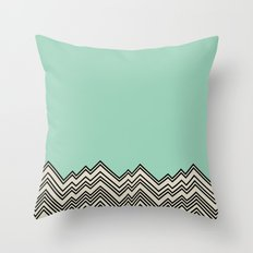 Where The Cool Kids Are Throw Pillow