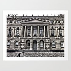 Old  Court House Art Print