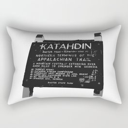 To Katahdin Rectangular Pillow