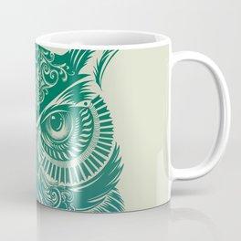 Warrior Owl Coffee Mug